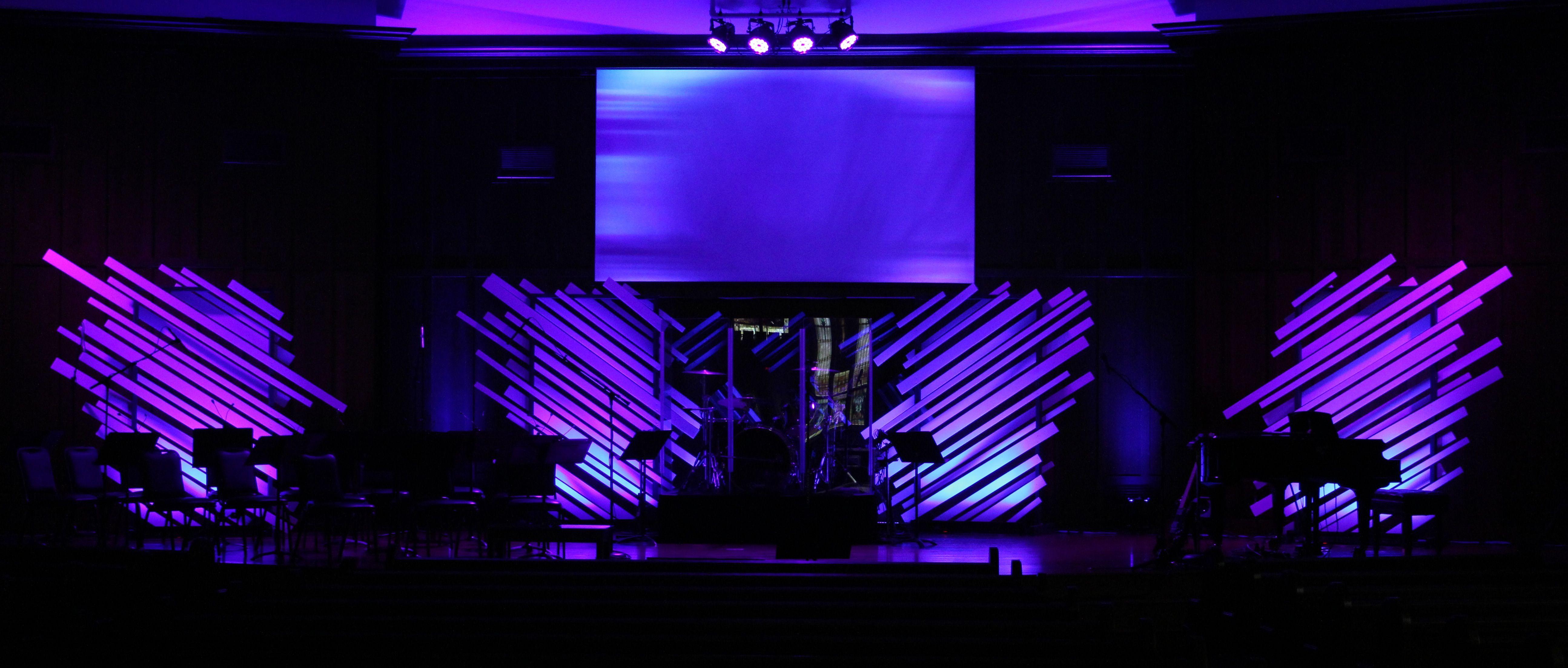 Church Stage Design Idea