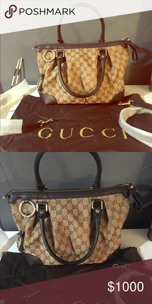 e1471276b00 Gucci tan & brown purse 247902/502752 Gucci Bags Totes   My Posh ...