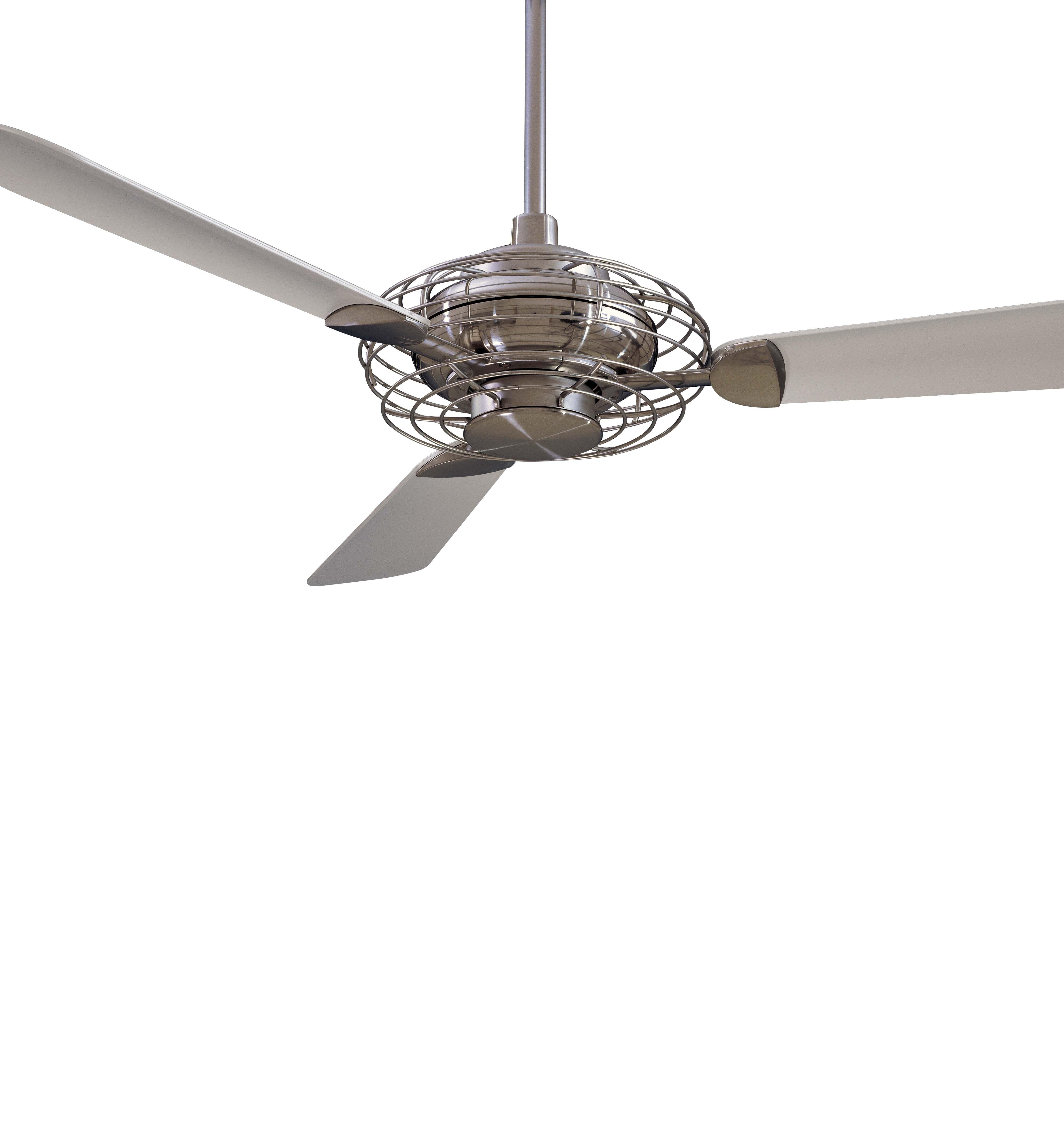 Acero Ceiling Fan Features Opal Gl