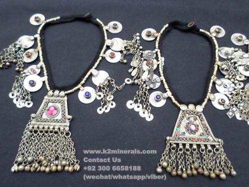 tribal jewellery necklace Kuchi Joyeria collar banjara necklace
