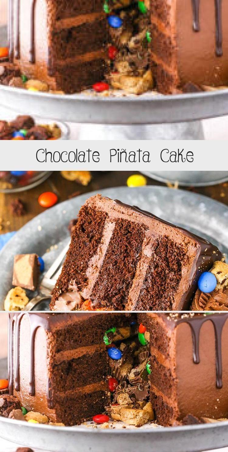 Photo of Chocolate Piñata Cake – Life Love and Sugar #PinataKuchenSchoko #PinataKuchen…