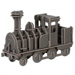 Składany pociąg - karton z recyclingu