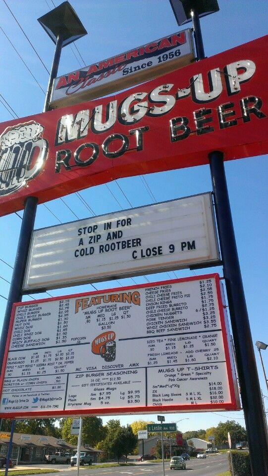If You Love Root Beer & Love The Old Drive Up Style Restaurant Then You Can Not Go Wrong With Mugs Up.