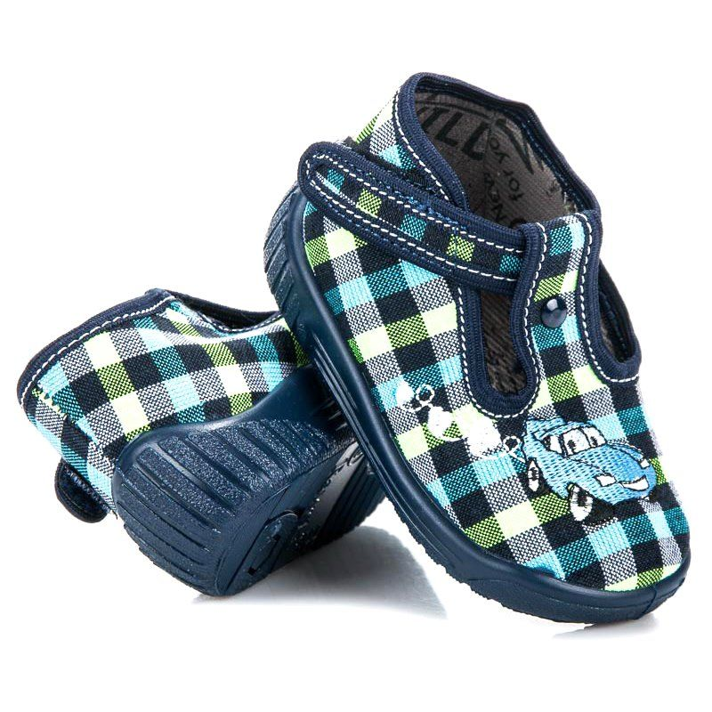 Kapcie Dzieciece Dla Dzieci Reweks Niebieskie Dzieciece Obuwie Domowe Reweks Baby Shoes Shoes Sandals
