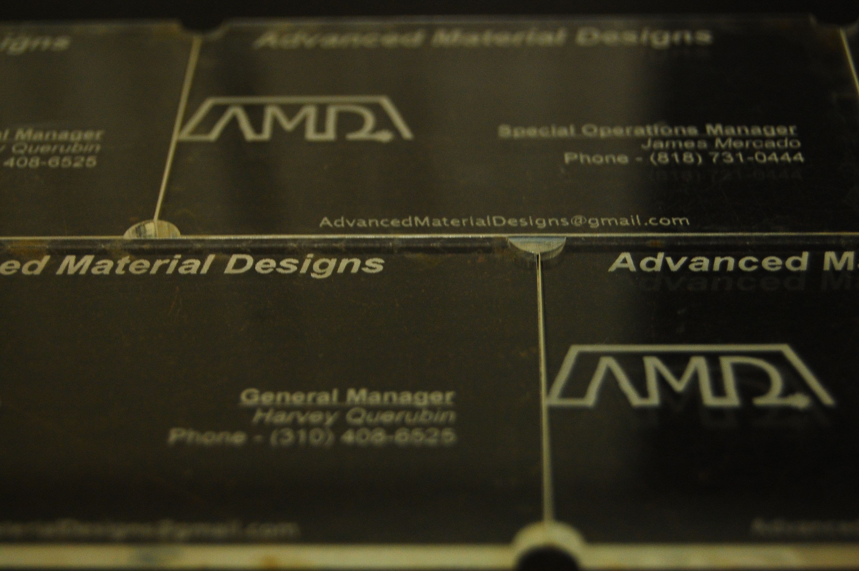 Custom specialized business cards arcylic by amd custom specialized business cards arcylic by amd advancedmaterialdesigns colourmoves