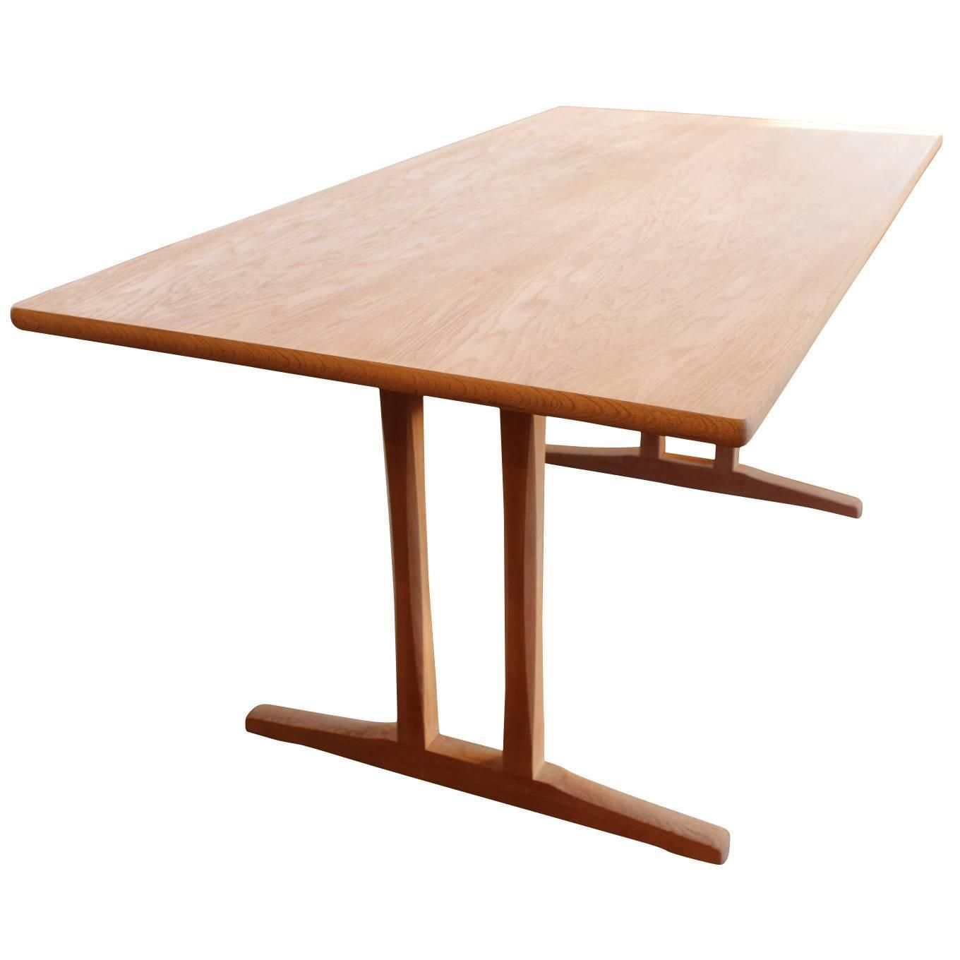 Shaker Dining Table, C18, Designed By Børge Mogensen And F.D.B. Furniture,  1957