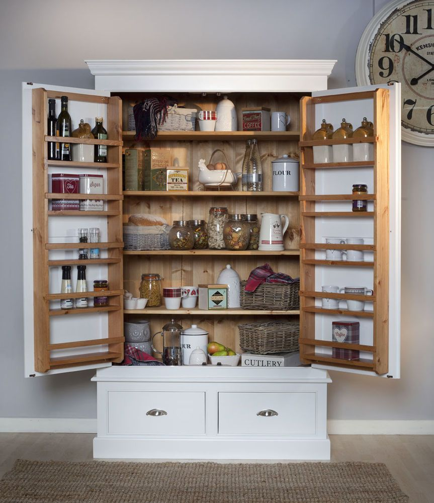 Kitchen Cabinets Made To Order: Details About Bespoke Larder Cupboard