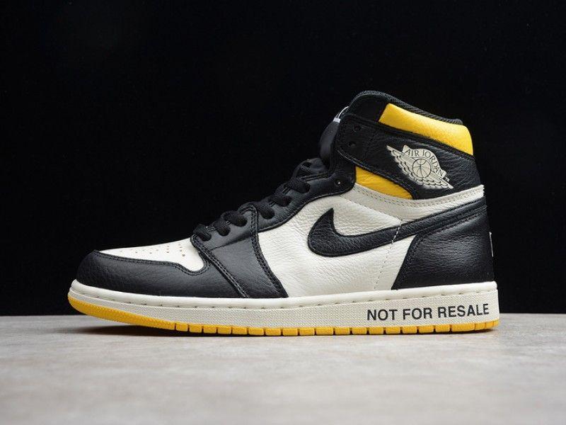 Air Jordan 1 No Ls Not For Resale Varsity Maize 861428 107