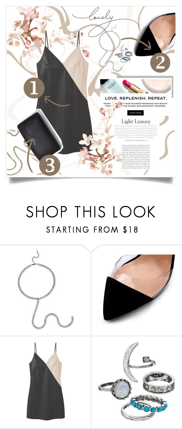 """""""Chic"""" by patri-fachini ❤ liked on Polyvore featuring Chanel and MANGO"""