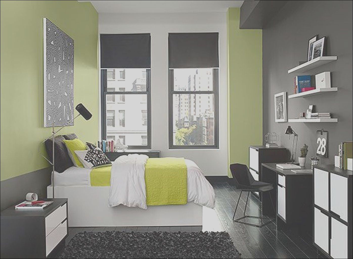11 Advanced Apartment Interior Colors Image  Dormitorios