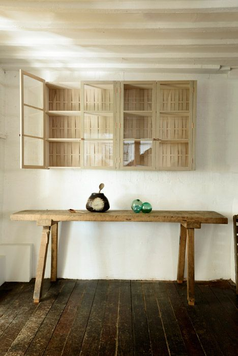 Sebastian Coxs Urban Rustic Kitchen For DeVol Features Sawn And Woven Timber