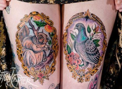 incredible tattoos by Clifton Carter