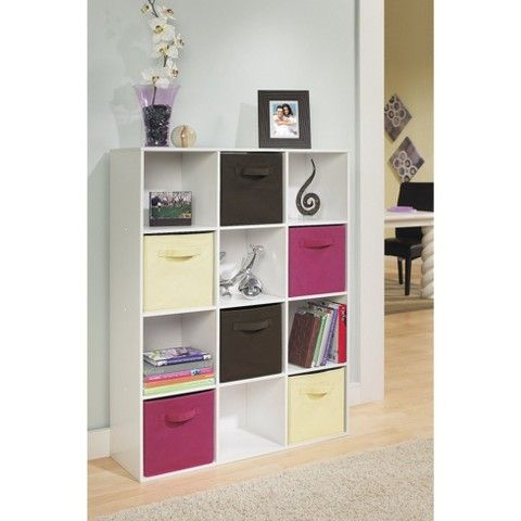 Vertical Sides Closetmaid Cubeicals 12 Cube Organizer White Bedroom Storage For Small Rooms Cube Organizer Shelf Organization