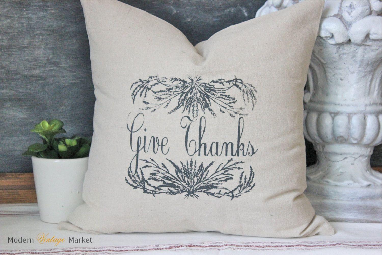 Pillowfall pillowdecorative throw pillowthanksgiving pillowlinen