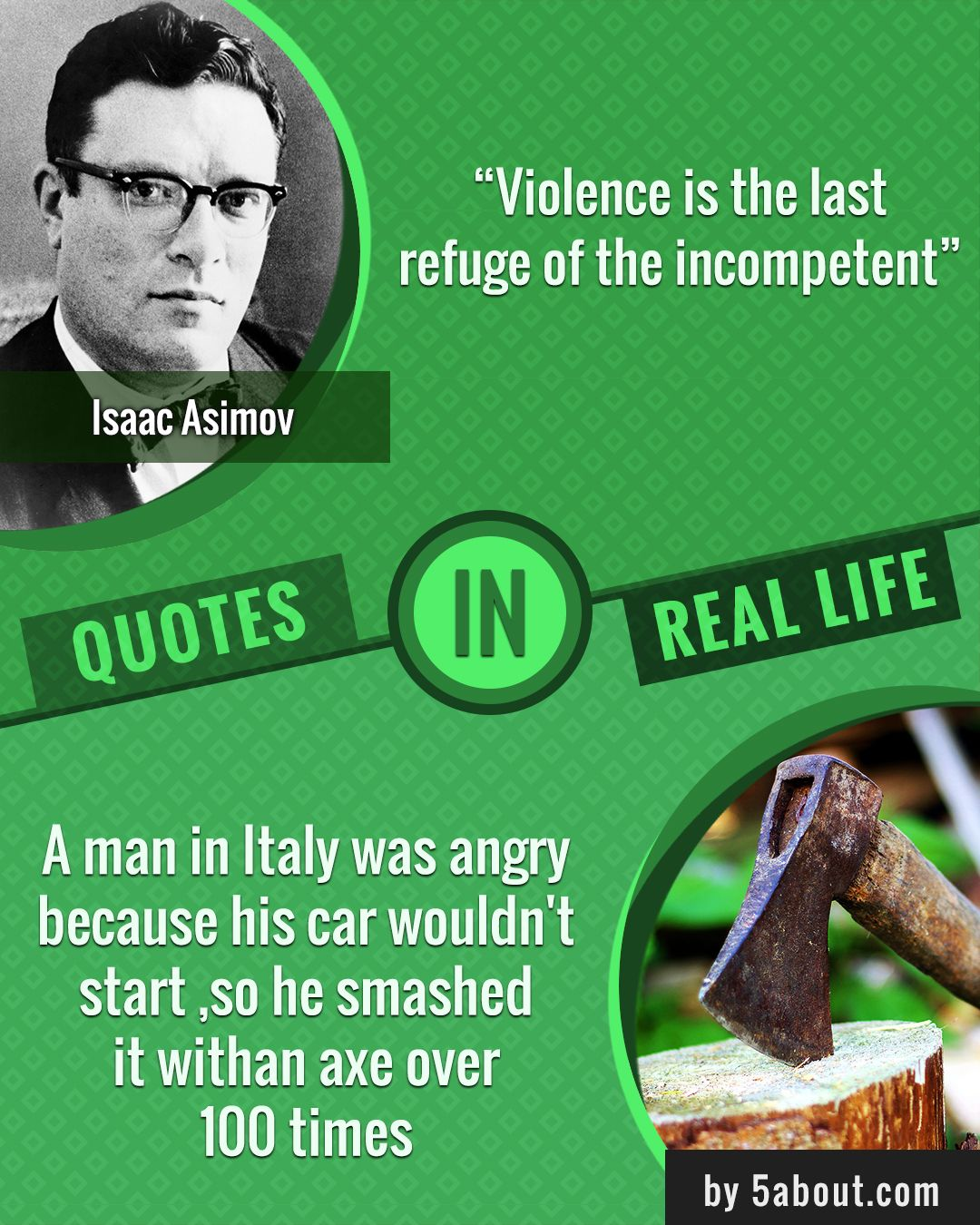 "Refugee Quotes 5About Violence  ""violence Is The Last Refugee Of The Incompetent"