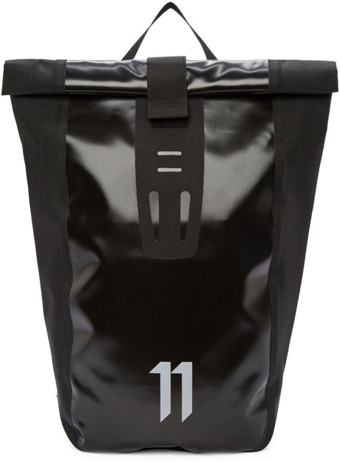98d71cea27b1 11 by Boris Bidjan Saberi Black Velocity Backpack