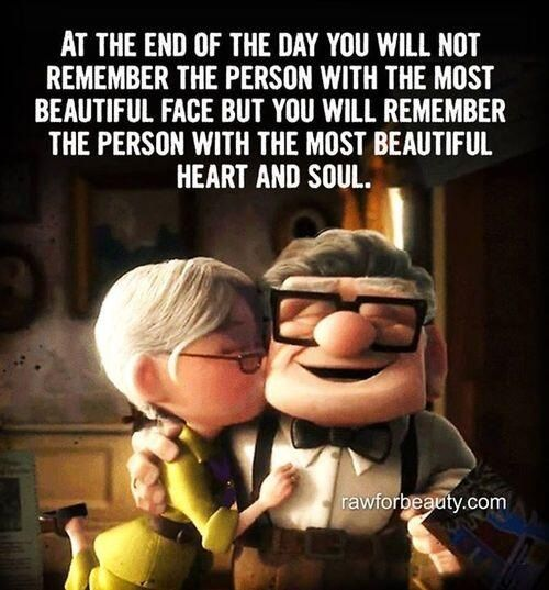 You WILL remember the person with the most beautiful heart and soul