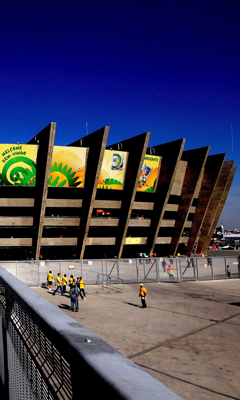 Estadio Mineiro, Belo Horizonte http://goo.gl/mwynqM