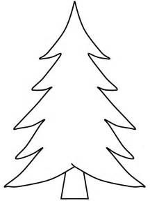 Evergreen Tree Outline Cliparts Co Christmas Tree Stencil