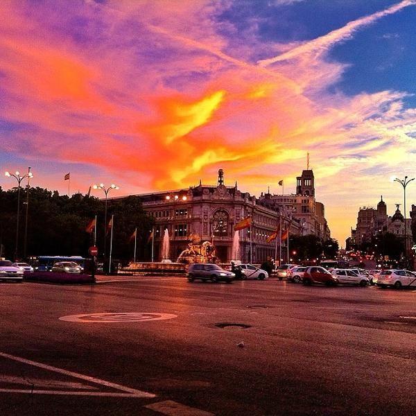 Fotos en Plaza de Cibeles - Las Cortes - Madrid