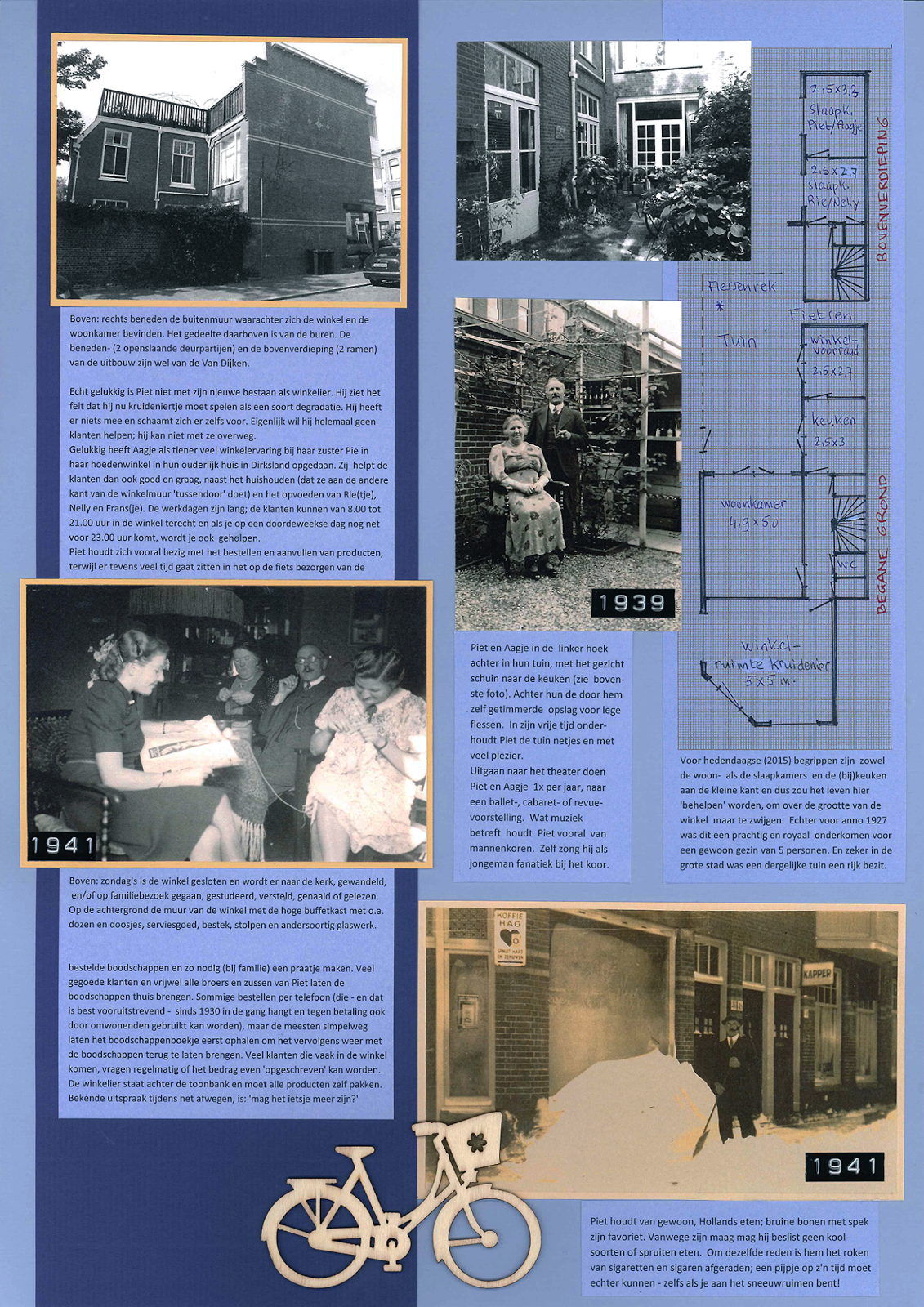 Familie in Beeld - Alles over familiegeschiedenis en stamboomonderzoek: #5: 6 nieuwe kleuren blauw A3 papier