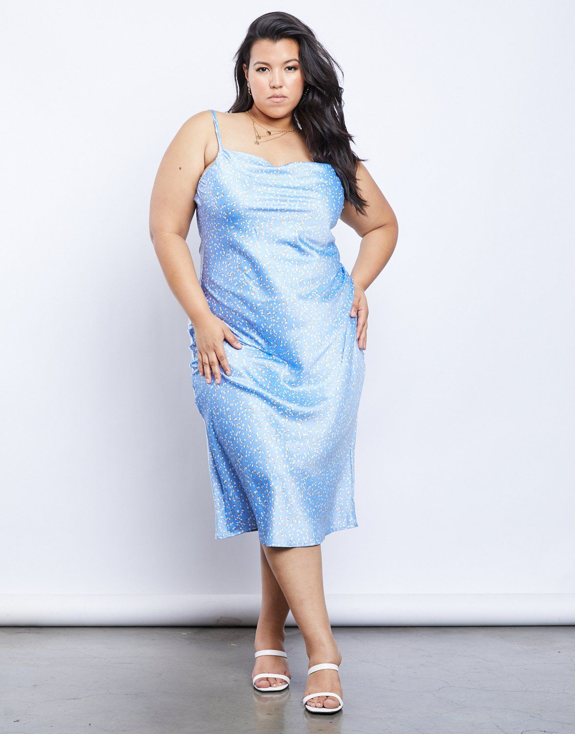 Plus Size Alexcina Slip Dress In 2020 Slip Dress Slip Dress Outfit Dresses