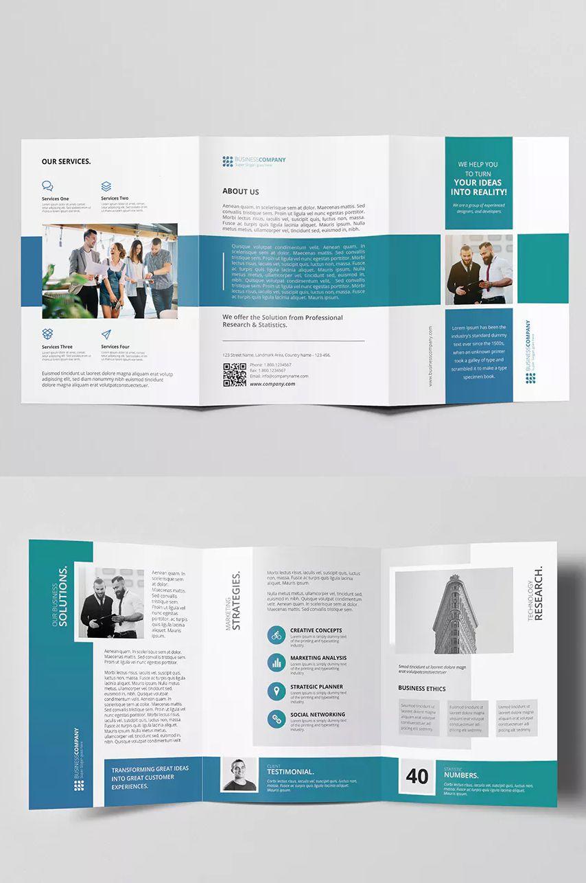 A5 Tri Fold Brochure By Graphix Shiv On Envato Elements Brochure Template Psd Free Brochure Template Brochure Template 3 fold brochure template word