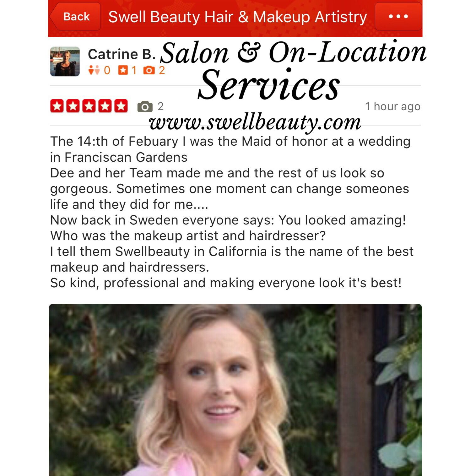 We love our Job and pampering our Clients !! Thanks for