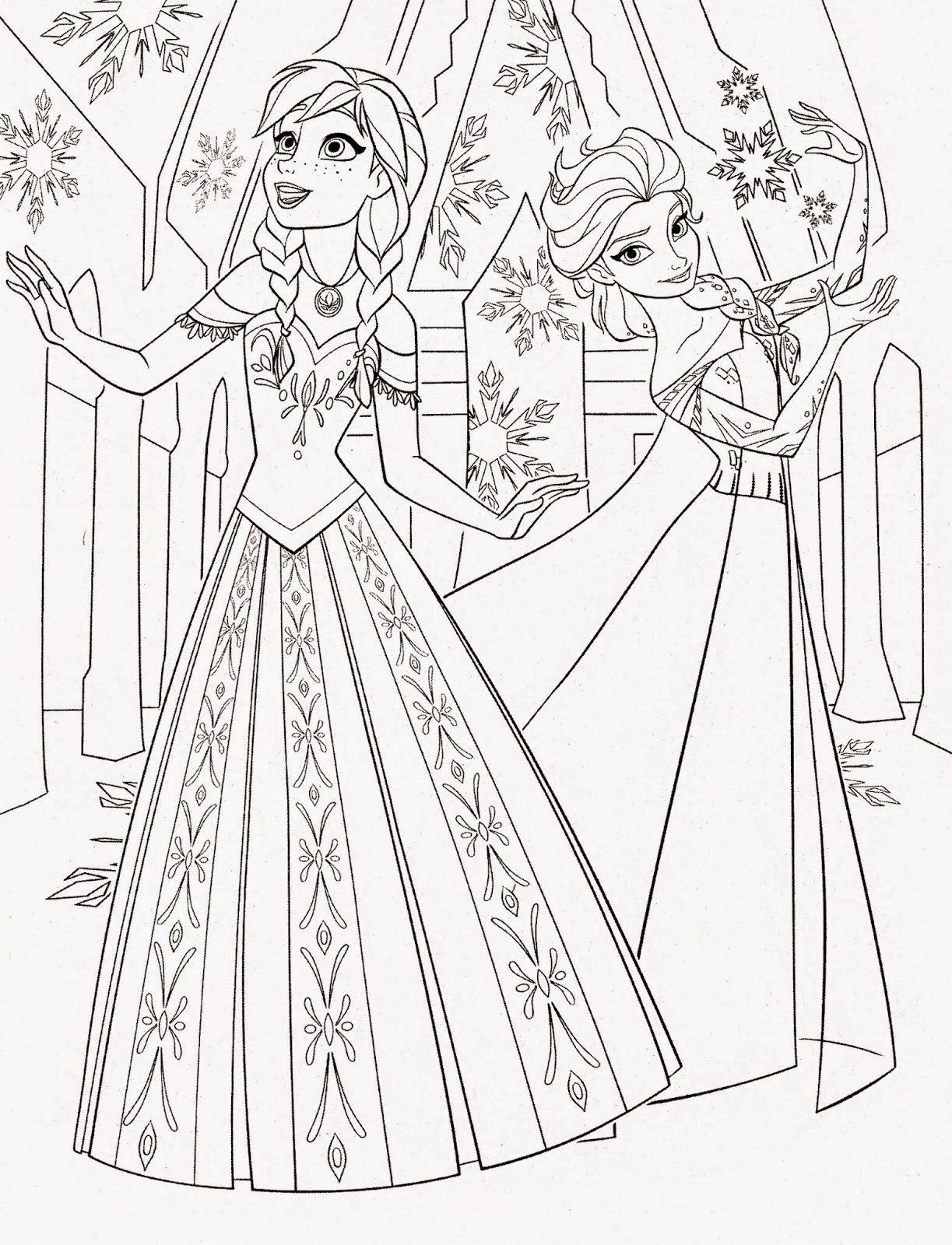 Free Frozen Coloring Pages Inspirational Pin By Yooper Girl On Color Fashion Disney Princess Coloring Pages Elsa Coloring Pages Princess Coloring Pages