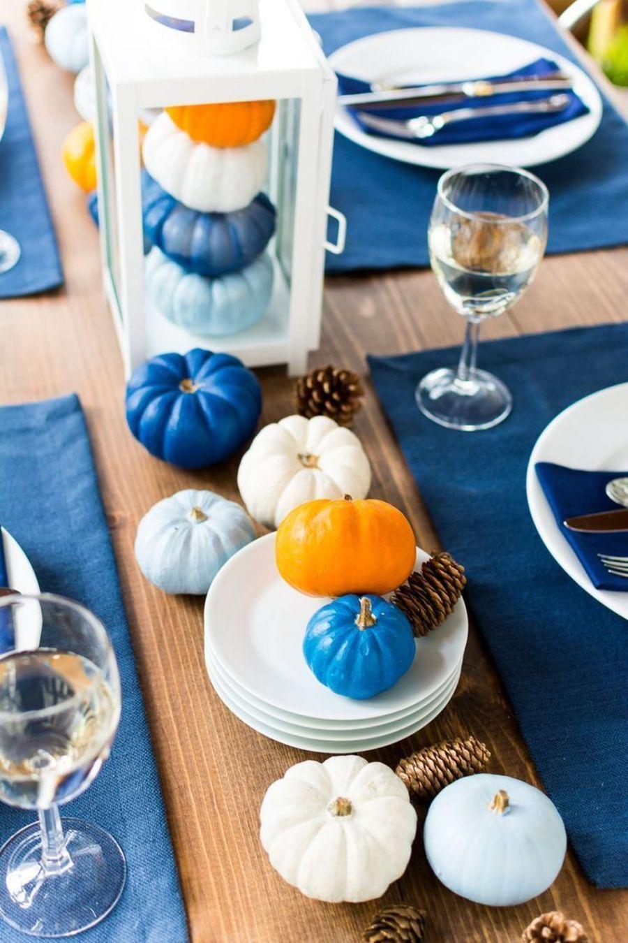 33 Beautiful Thanksgiving Dinner Table Decor Ideas - belihouse.com #thanksgivingdinnertable
