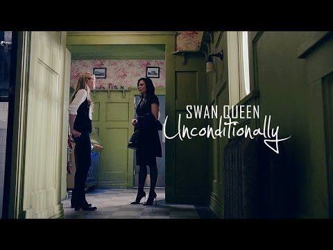 "Swan Queen | ""Unconditionally"" fanvid. OH, MY PRECIOUS BABIES, YOU WILL BE THE DEATH OF ME. SQ's my favorite ship currently on air (Heh, understatement!), if you weren't aware, and this vid has slayed me this month. ♥"