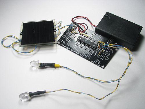 Diy simple solar circuits diy projects easy do it yourself diy simple solar circuits solutioingenieria Choice Image