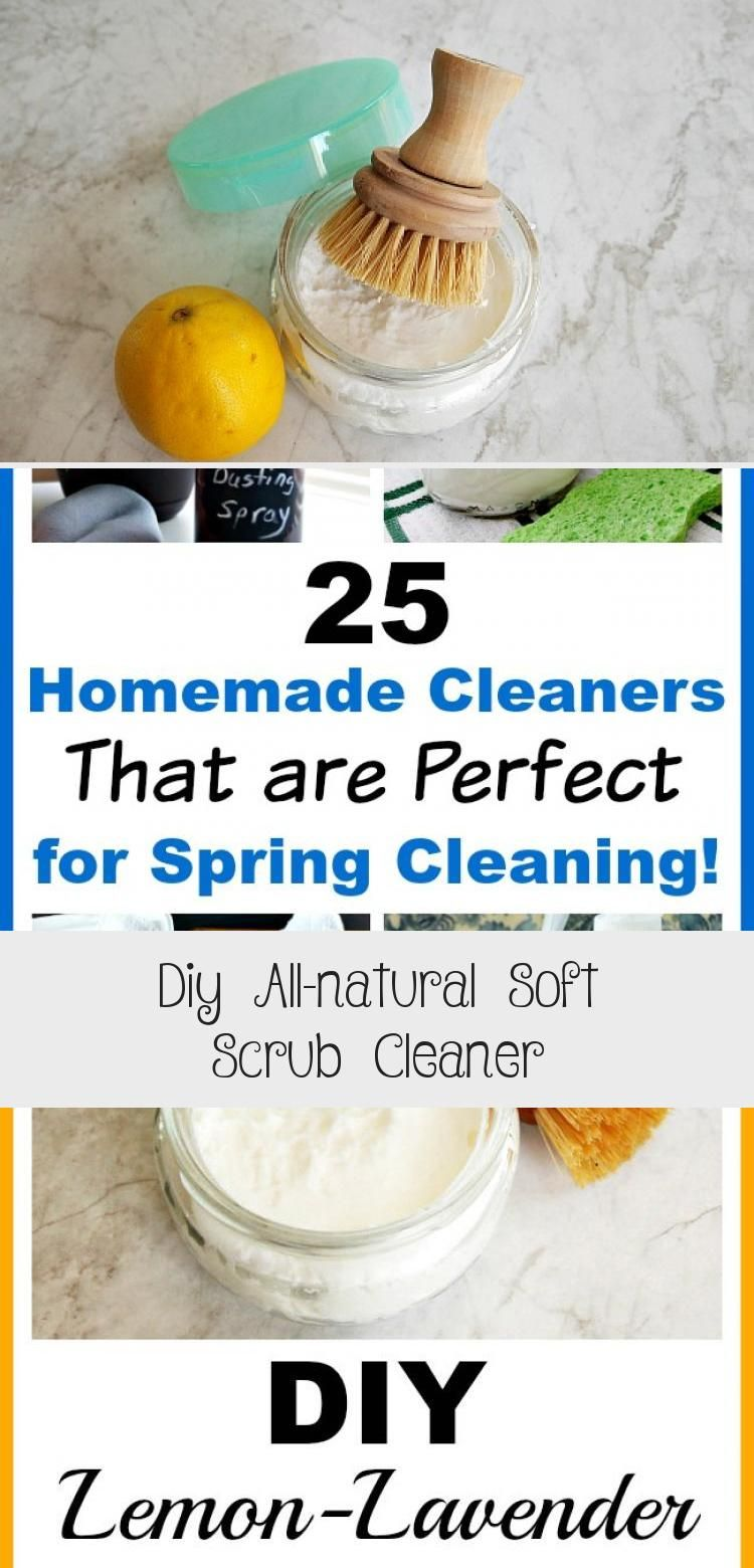Diy allnatural soft scrub cleaner in 2020 with images