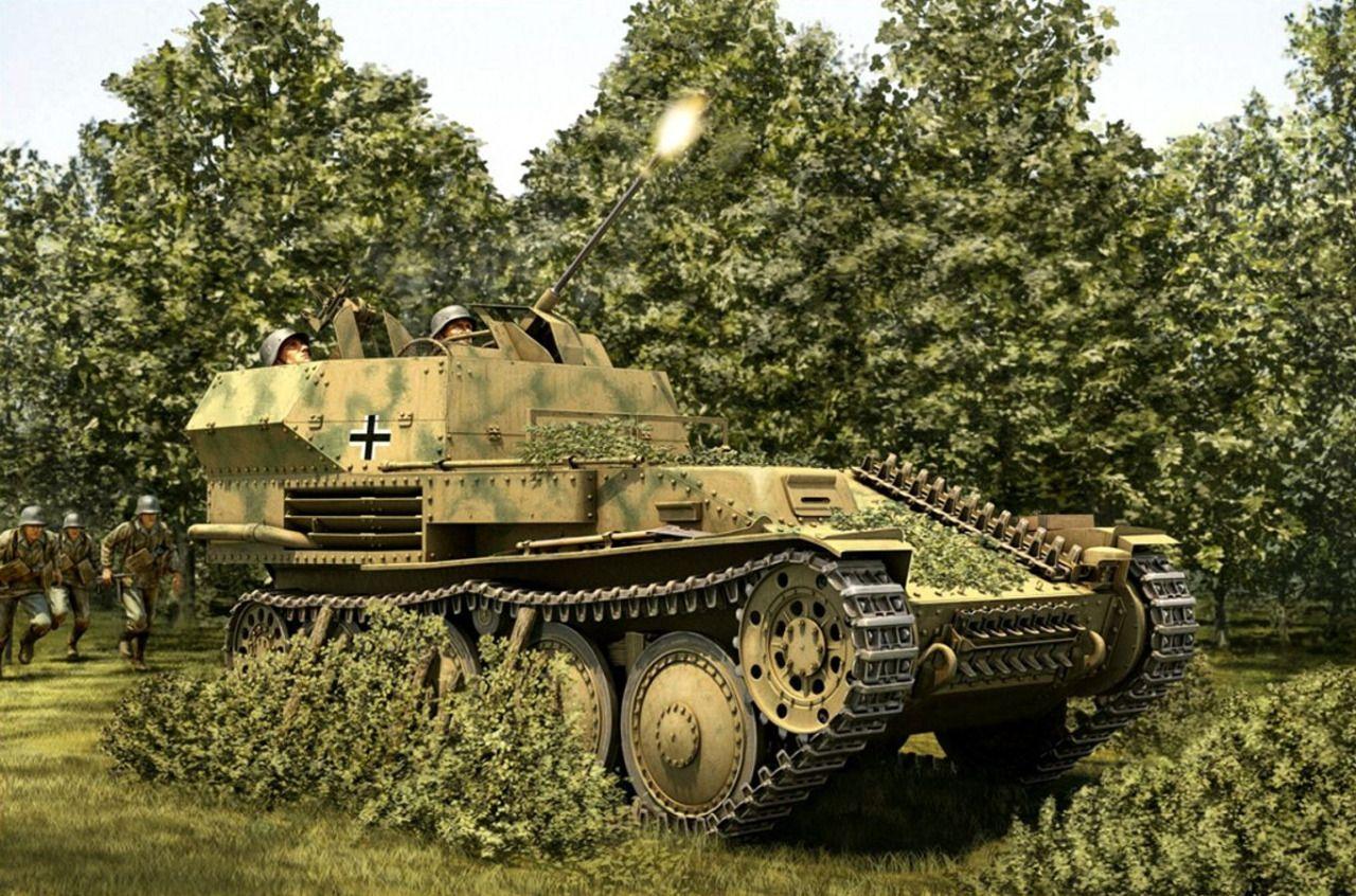 Pinturas de tanques: Segunda Guerra Mundial : Photo