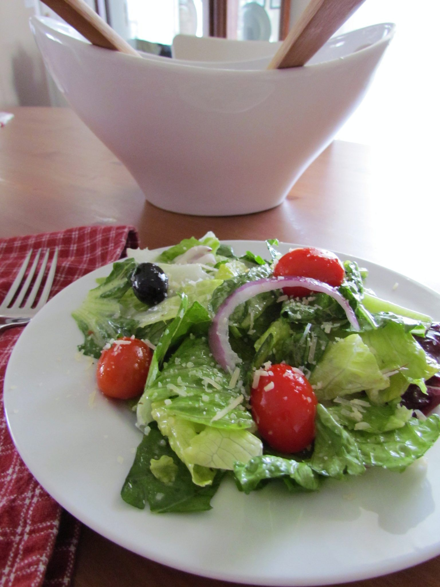 Olive Garden Salad Copycat Recipe Food I've made in