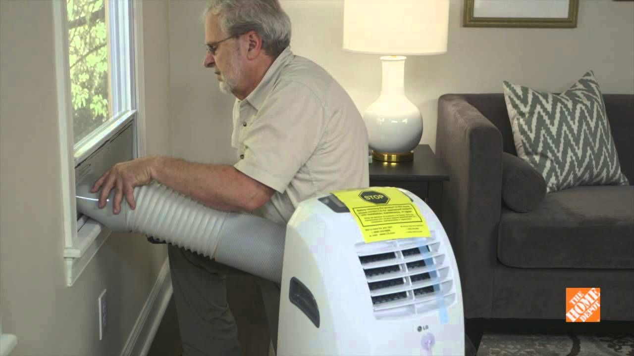 How to install a portable ac unit portable air
