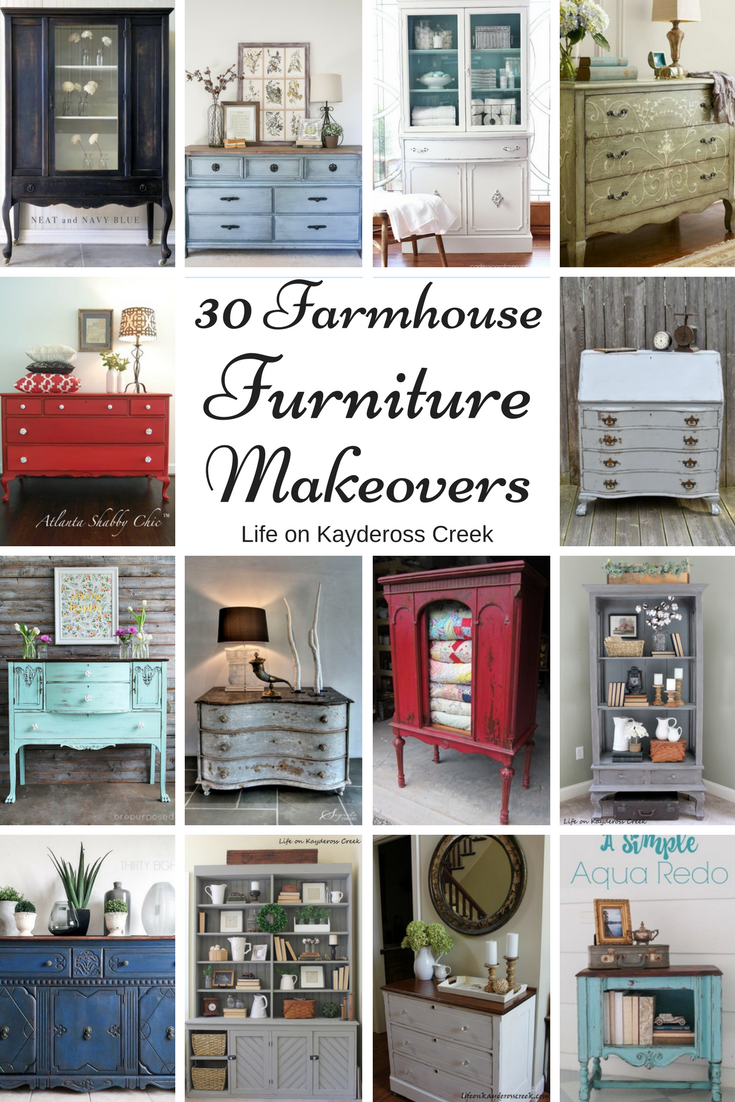 30 Farmhouse Furniture Makeovers Paint Creativity And Elbow Grease Can Go A Long Way To Make A Piece Farmhouse Furniture Furniture Makeover Farmhouse Decor