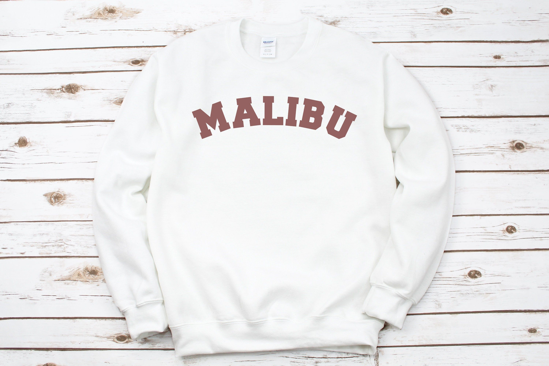 Malibu Sweatshirt California Crewneck Sweatshirt Malibu Etsy [ 2000 x 3000 Pixel ]