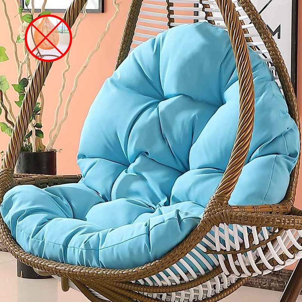Chair Cushion Egg Hanging Padsnonslip Rattan Soft Swing Tinas Wicker Tina S Wicker Rattan Hanging E Hanging Egg Chair Rattan Egg Chair Swinging Chair