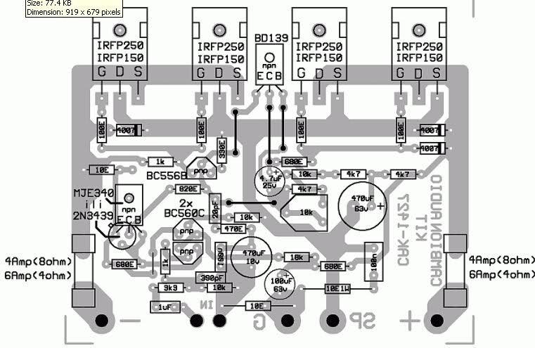 amplifier mini electronic design