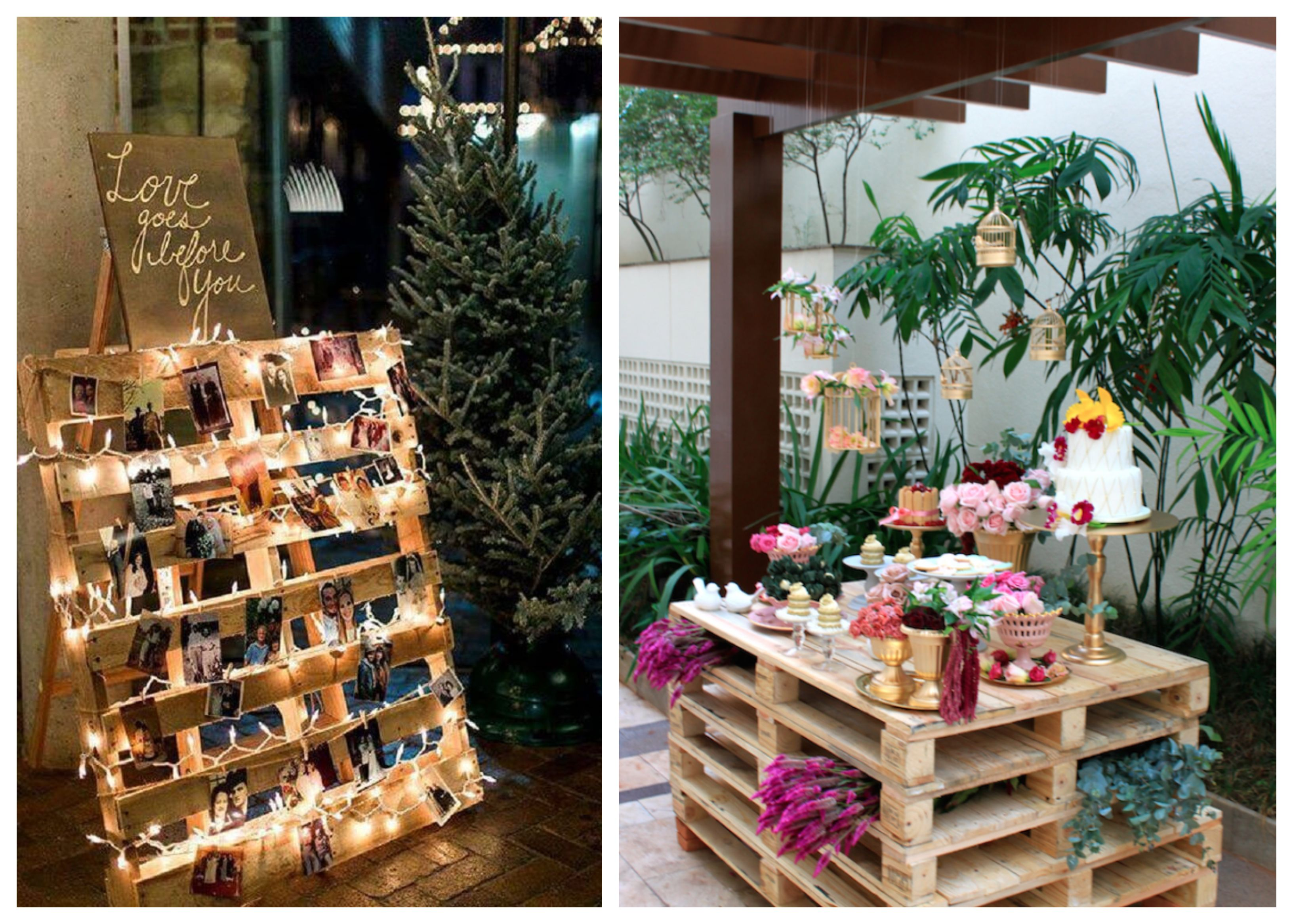 Upcycled Event Decor – Wooden Pallets