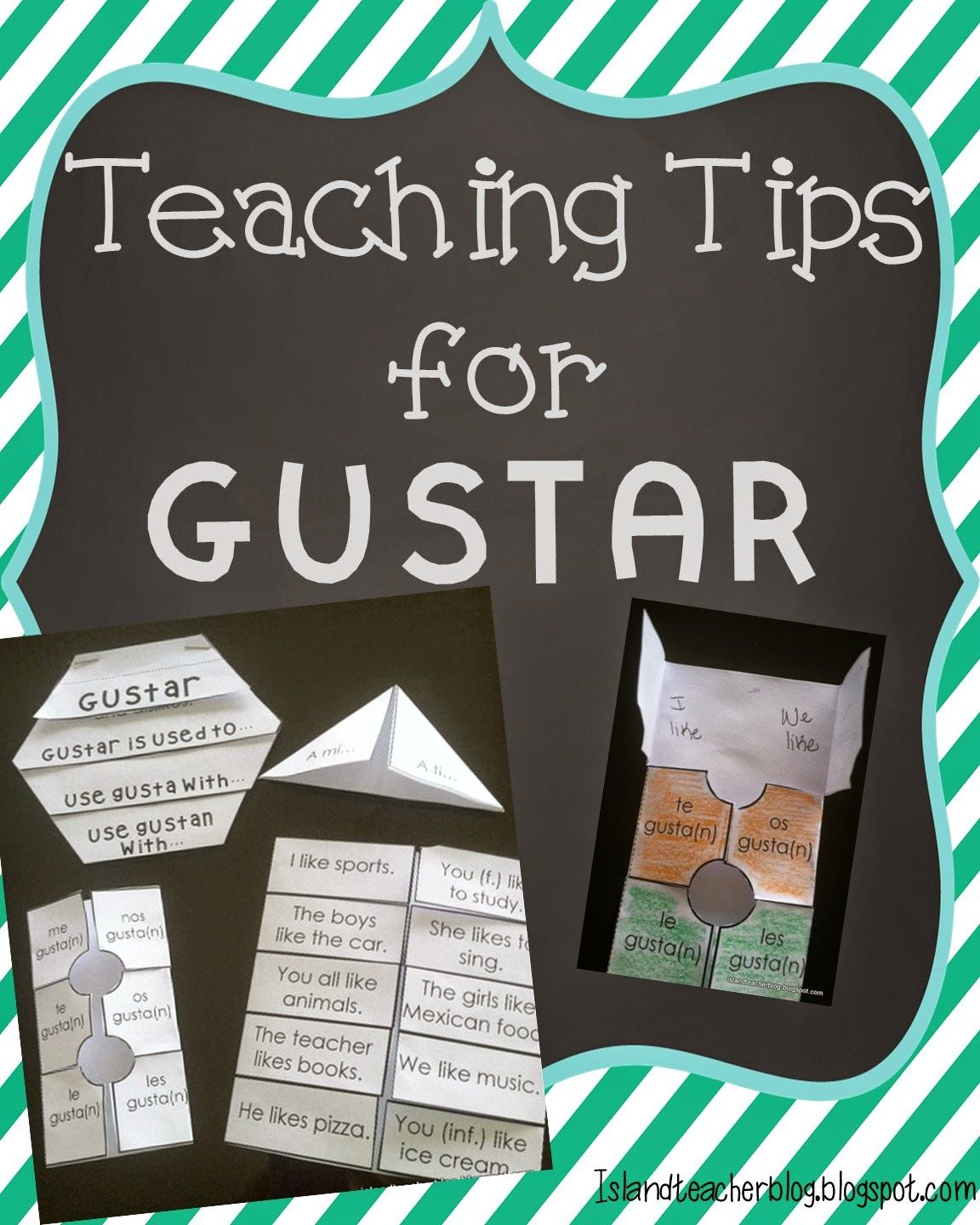 Teaching Tips For The Verb Gustar