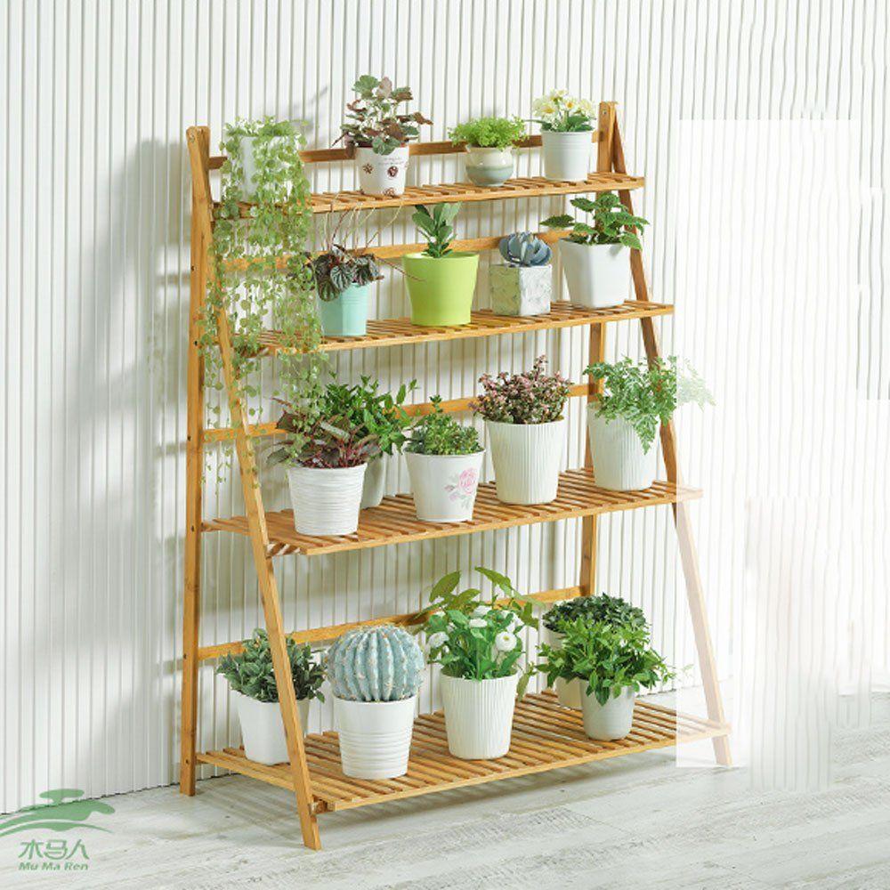 Estanter a para plantas super decorativo para interiores - Estanteria para plantas ...