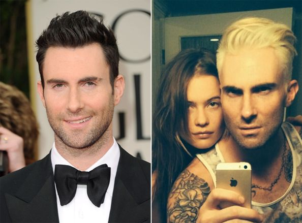 Maroon 5 Hairstyle: Adam Levine Has Gone Blonde! Check Out His Platinum Coiff