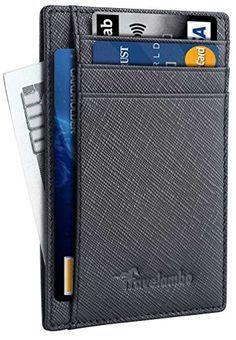 Travelambo Front Pocket Wallet Minimalist Wallets Leather... https://www.amazon.com/dp/B01IEEJX3S/ref=cm_sw_r_pi_dp_x_Is.fyb89VVHYQ