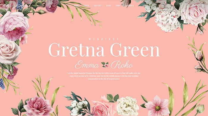 Gretna Green Wedding Theme In 2020 Green Themed Wedding Gretna Green Wedding Gretna