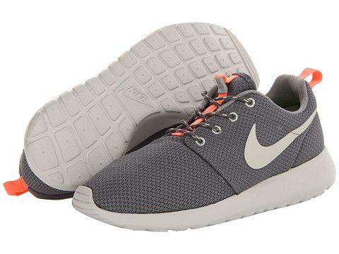 big sale b5d6e 43e92 Nike Roshe Run Mercury Grey Mine Grey Atomic Pink Mortar - Zappos.com