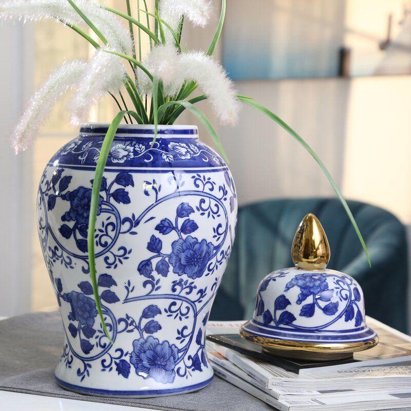 Conklin Ceramic Temple Jar Temple Jar Jar Decorative Jars