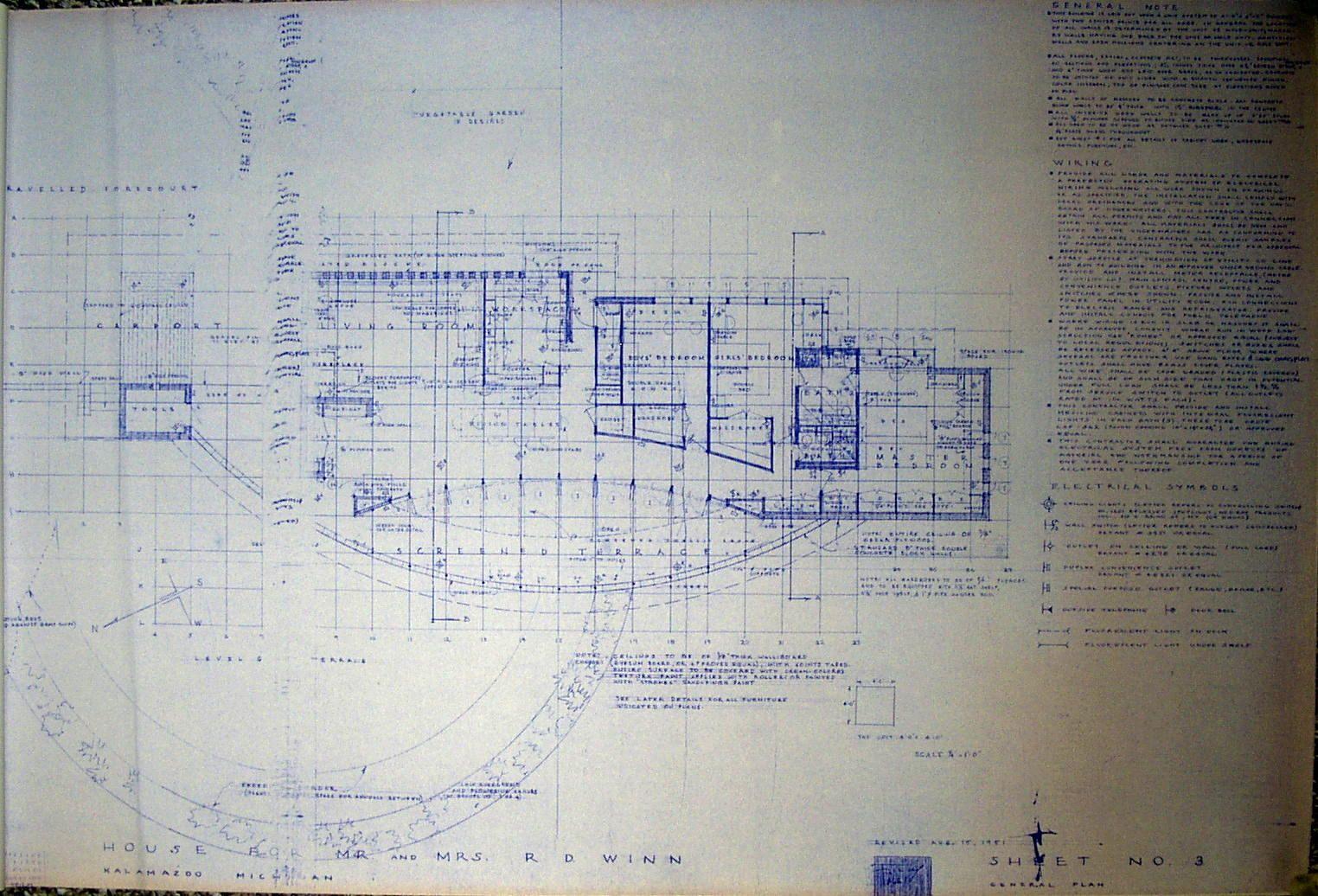 Frank Lloyd Wright Blueprints Google Search Frank Lloyd Wright Lloyd Wright Construction Drawings