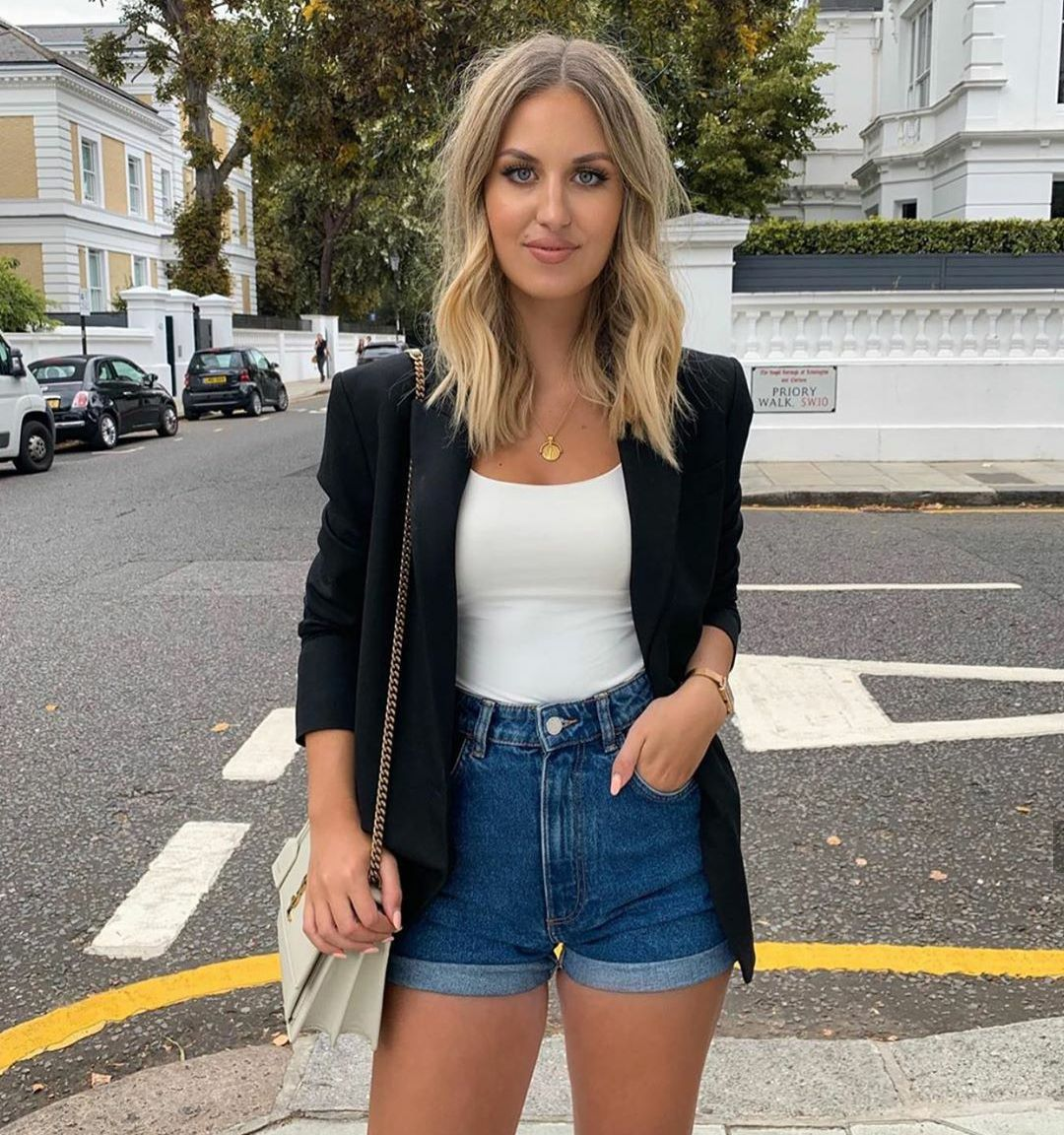 6 looks incríveis com Blazer   Looks casuais femininos